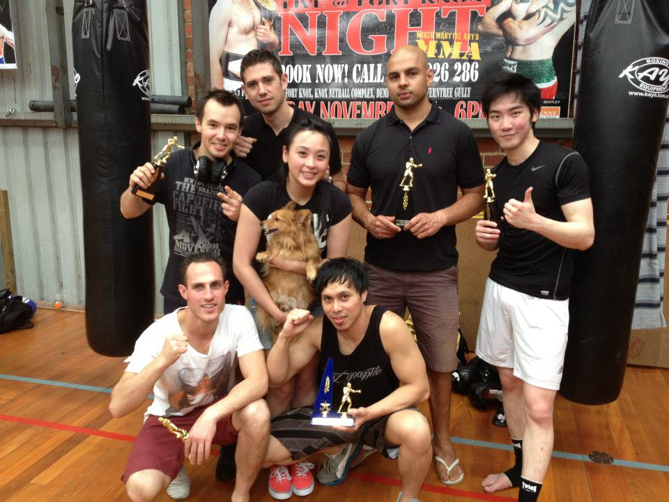 NFC National Fight Competition Muay thai Gym of 2012